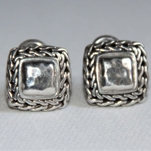 John Hardy's Collection Sterling Silver Earrings